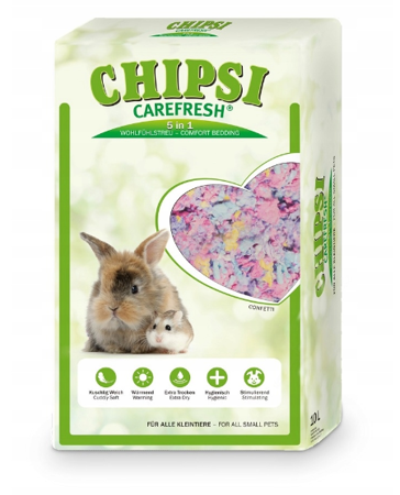 CHIPSI Carefresh Confetti 10L 1 kg kolorowe płatki celulozy