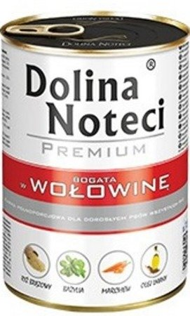 DOLINA NOTECI PREMIUM BOGATA W WOŁOWINĘ 400 g