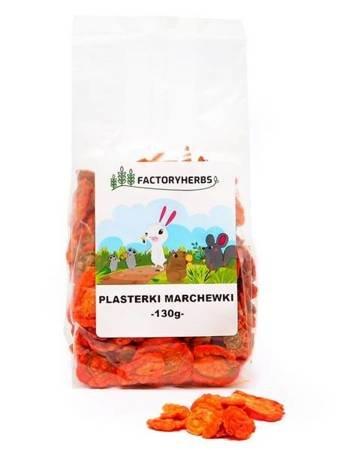 FactoryHerbs Plasterki marchewki 130 g