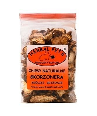 HERBAL Pets Chipsy naturalne Skorzonera 75g