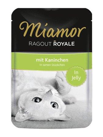 MIAMOR Ragout Royale z Królikiem w Galaretce Saszetka 100 g