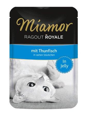 MIAMOR Ragout Royale z Tuńczykiem w Galaretce Saszetka 100 g