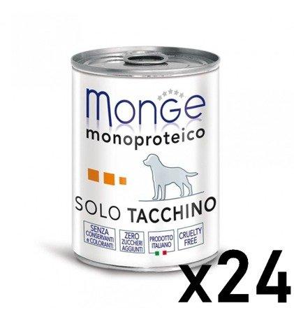 Monge Monoprotein Indyk ZESTAW 24 sztuk