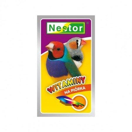 """Nestor witaminy """"na piórka"""" dla ptaszków egzotycznych 20 g"""