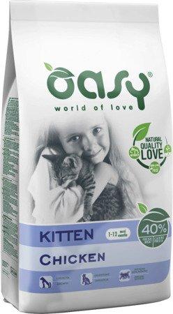 OASY DRY CAT Kitten - Kurczak 300g