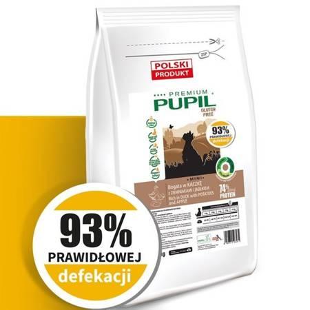 PUPIL Premium GLUTEN FREE MINI bogata w kaczkę z ziemniakami i jabłkiem 10 kg