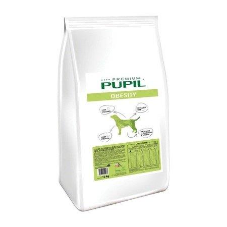 PUPIL Premium OBESITY dla psów z nadwagą i osobników otyłych z rybą bałtycką 12 kg