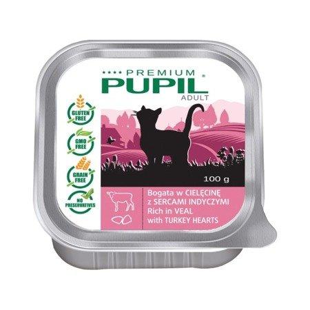 PUPIL Premium bogata w cielęcinę z sercami indyczymi 100 g