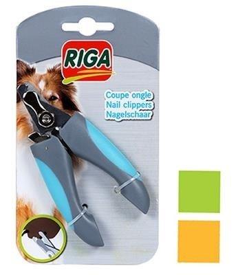 RIGA-Cążki do pazurów psa z systemem bezpieczeństwa