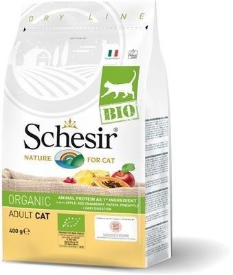 Schesir BIO Maintenance - karma z kurczakiem dla kotów dorosłych 400 g