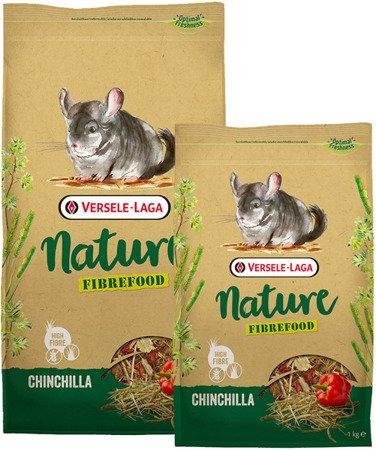 Versele Laga Chinchilla Nature Fibrefood 2,75 kg - pokarm LIGHT/SENSITIVE dla szynszyli