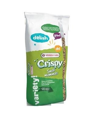 Versele Laga Crispy Pellets - Chinchillas&Degus 25 kg - granulat dla szynszyli i kosztaniczek
