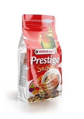 Versele Laga Prestige Snack Parakeets 125g - przysmak z biszkoptami i owocami dla średnich papug